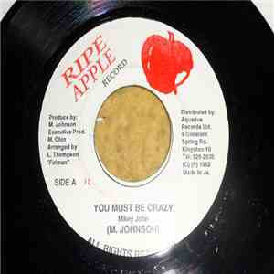 Mikey John - You Must Be Crazy download