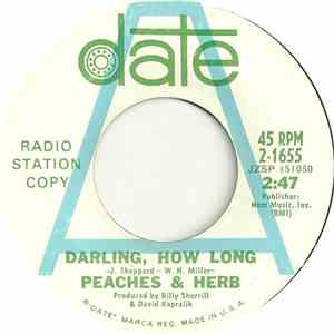 Peaches & Herb - Darling, How Long / Cupid / Venus download
